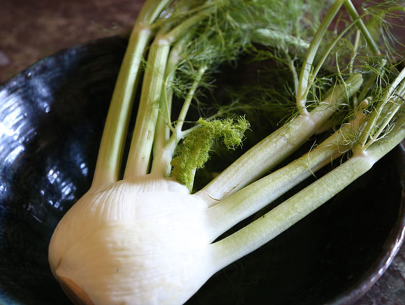 Parsley juice with fennel