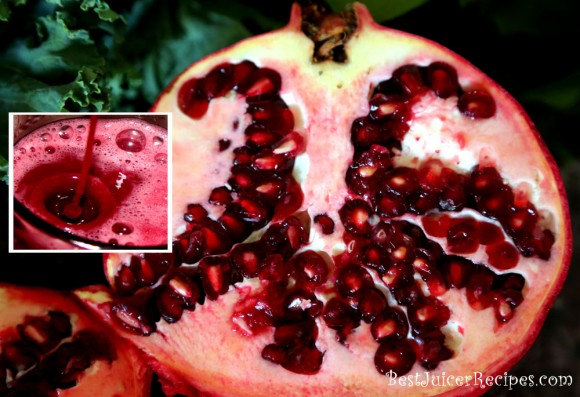 Pomegranate juice has many health benefits
