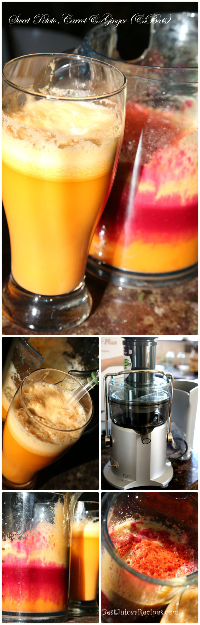 sweet potato juice (with beets)