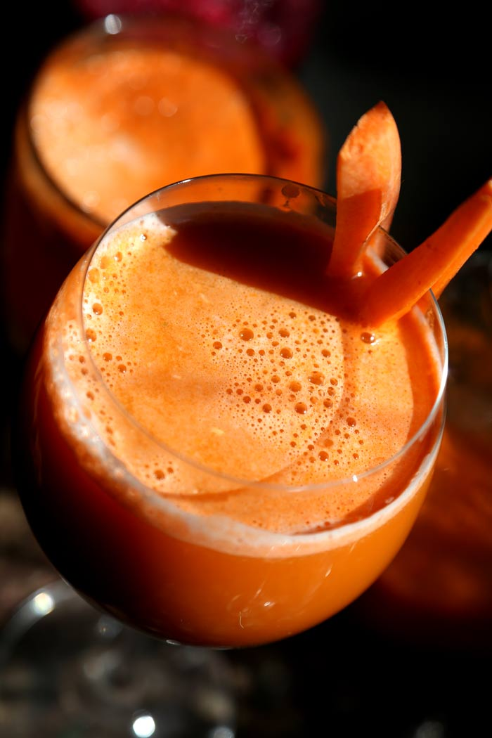 Carrot Fennel Juice Recipe