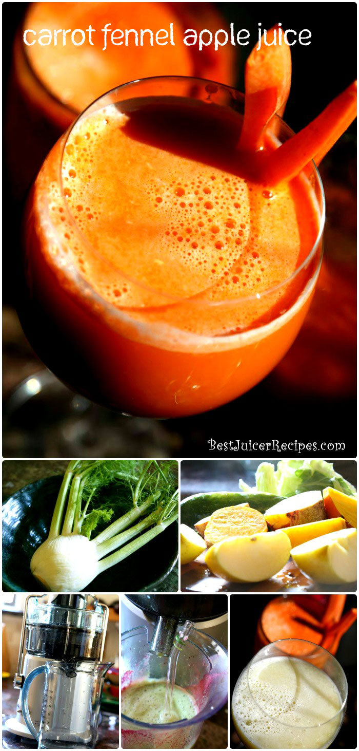 fennel carrot apple juice