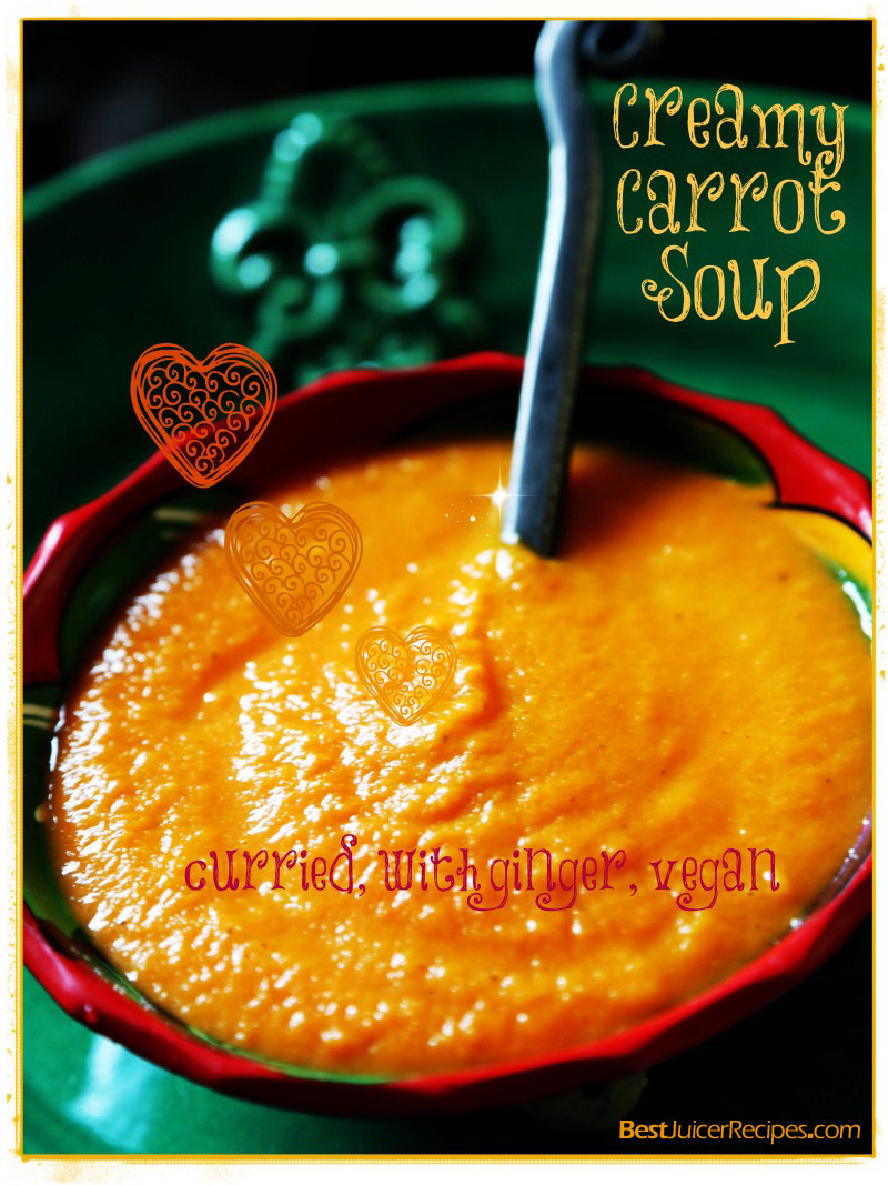 Creamy Carrot Soup For Kids Recipe — Dishmaps