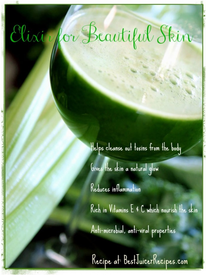 green-juice-for clear skin