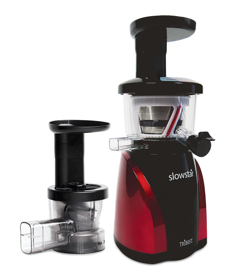 Slowstar Masticating Juicer : Tribest Slow Star Juicer