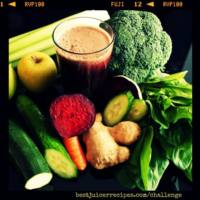 healthy juice made of organic fresh fruits and vegetables
